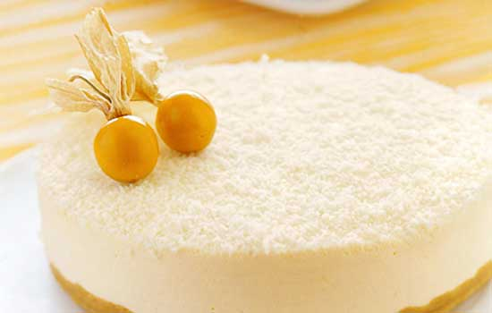 Cheesecake al cocco