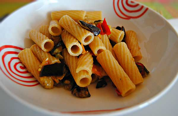 Rigatoni all'ortolana