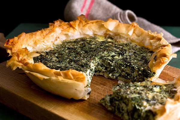 Torta salata con spinaci e ricotta (Bimby)